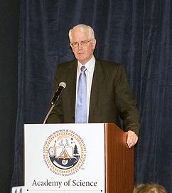 John Morris, M.D., 2013 Academy of Science - St. Louis Outstanding St. Louis Scientist Peter H. Raven Lifetime Achievement Award recipient