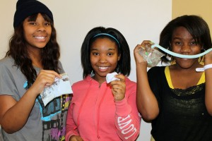 STEM Careers Students Make Silly Putty