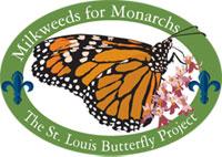 Milkweed for Monarchs logo