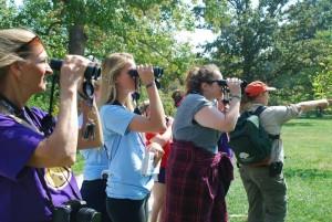 birders with amy